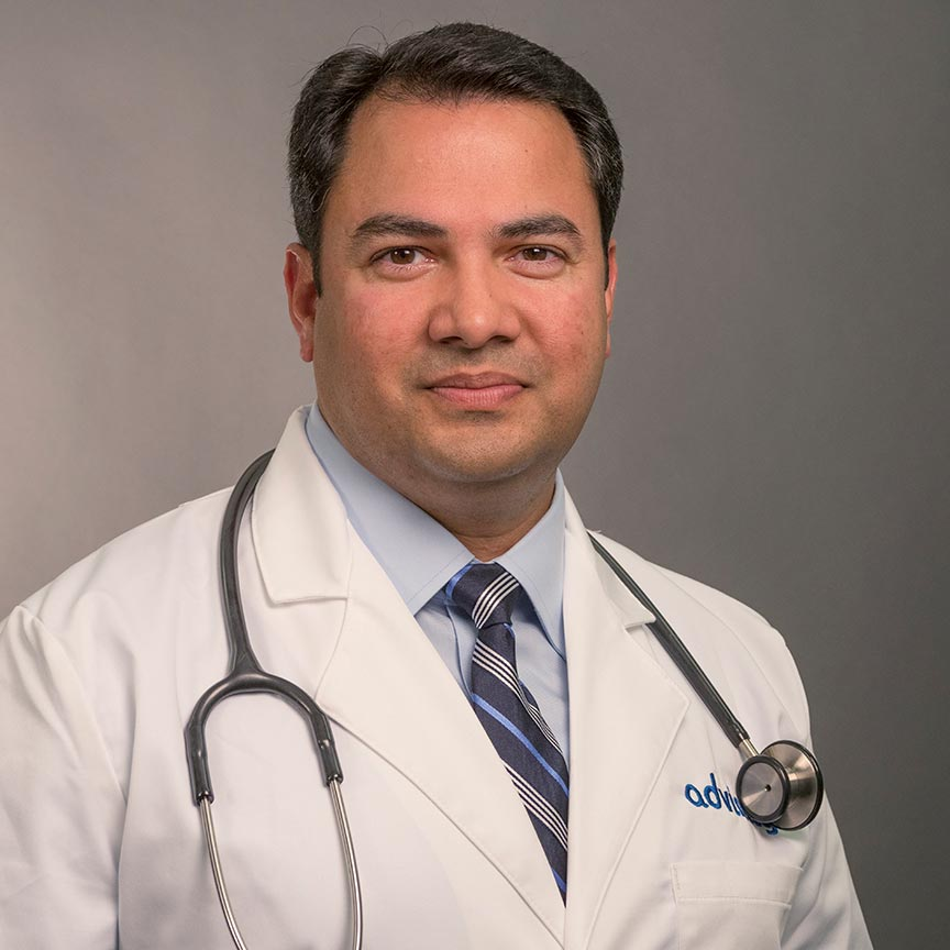 Vishnu Reddy, MD Headshot